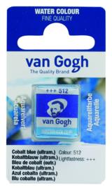 van Gogh watercolor napje 'Kobaltblauw(ultra.)'