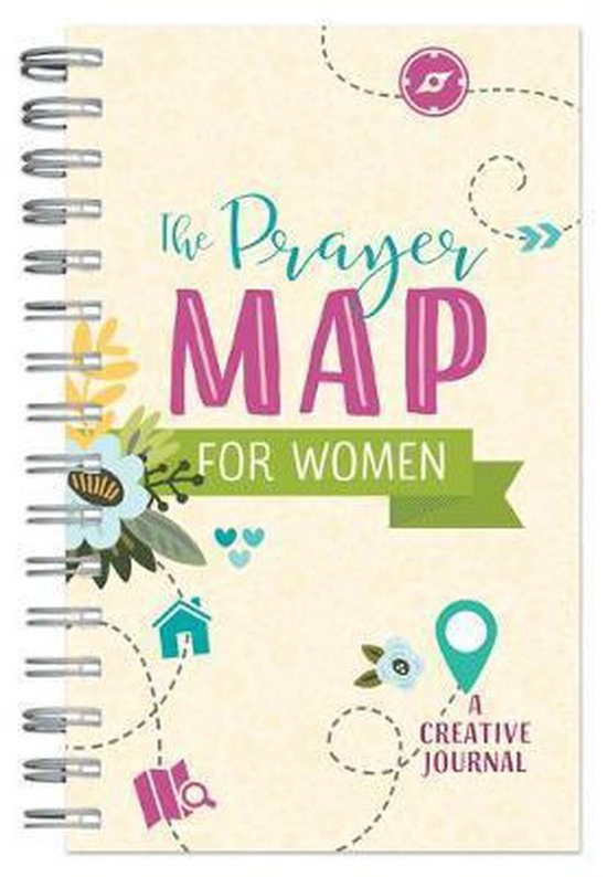 The prayer map for woman - A creative journal