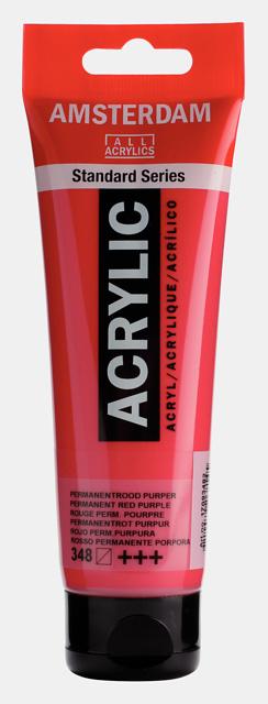 Amsterdam Acrylic 'permanent roodpurper' 348