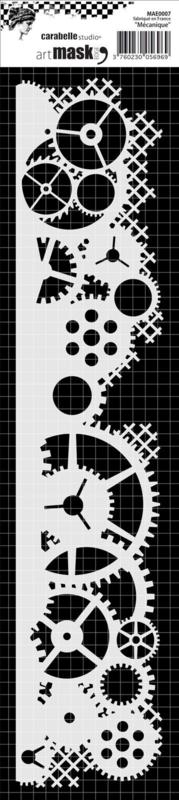 Carabelle studio Stencil 'Mecanique'
