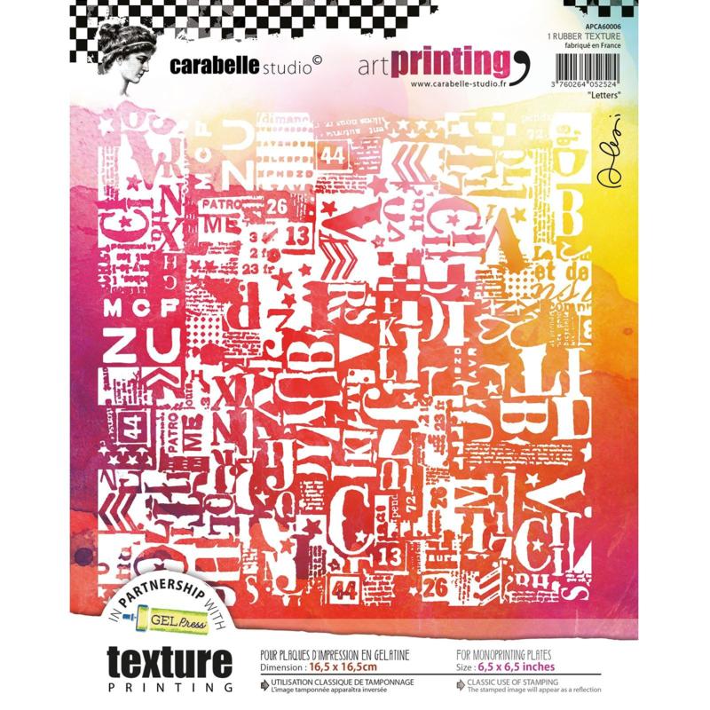 Carabelle Studio Art Printing 'Letters'