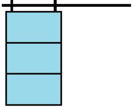 Stalen schuifdeur configurator