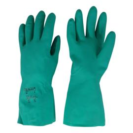 Nitril werkhandschoenen, chemisch en mechanisch bestendig - Large
