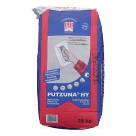 PUTZUNA HY 25kg – waterdichte pleister op cementbasis