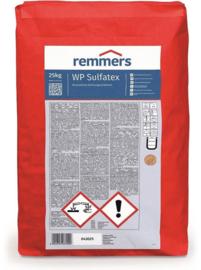 REMMERS WP SULFATEX 25kg Kelderdichting, waterdichte afdichtingsmortel bestand tegen sulfaat-zout, aan te brengen met kwast