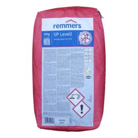 REMMERS SP LEVELL 20kg (Grundputz) Grondeerpleister met zoutbufferende eigenschappen voor vocht- en zoutbelast metselwerk