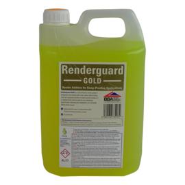 RENDERGUARD GOLD 4L. maakt mortel en beton waterdicht en zout-reducerend