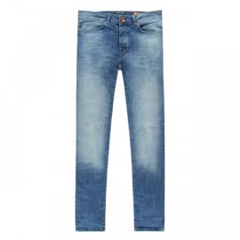 Cars jeans Dust superskinny 70ties blue kleur 94