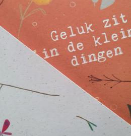 Mini poster Het is oké A5