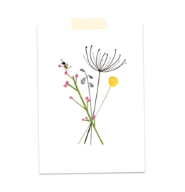 Bloemen bij