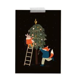 Feest kerstboom