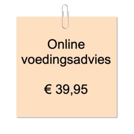 Online voedingsadvies