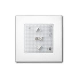 Somfy | Draadloze muurschakelaar Smoove 1 io Pure