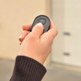 Afstandsbediening voor garagedeurmotor - KeyGo io