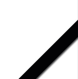 Effen washi tape: all black