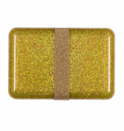 Lunch box: Glitter - gold