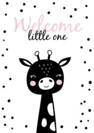 Giraf welcome little one