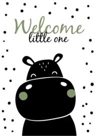 Nijlpaard welcome little one