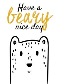Have a bear nichtje day