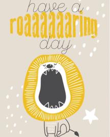 Have a roaaaaaaring dayTek