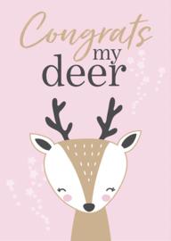 Congrats my deer