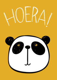 Panda Hoera okergeel
