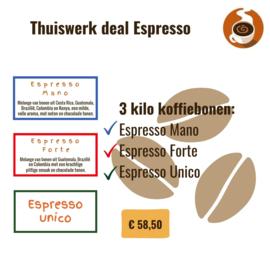 Thuiswerk deal Espresso