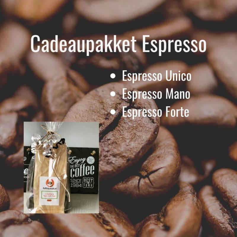 Cadeaupakket Espresso