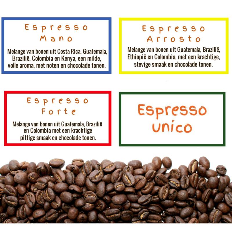 Espresso Specials, 4 x 250gr.