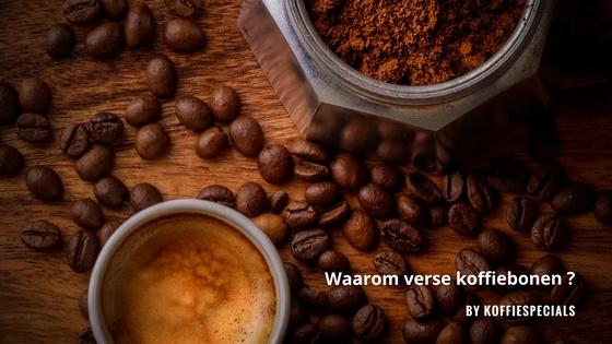 Waarom verse koffiebonen? | 17-3-2018