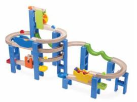 Houten Knikkerbaan Spiral Coaster