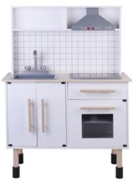 Luxe houten speelgoed keuken met licht en geluid