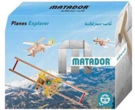 Matador Explorer 5+ Vliegtuigen houten bouwset (56-delig)