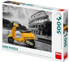 Puzzel Scooter at the Colosseum - 500 stukjes