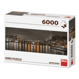 Puzzel London at Night - 6000 stukjes - Panorama Legpuzzel