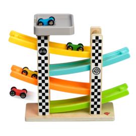 Houten racebaan