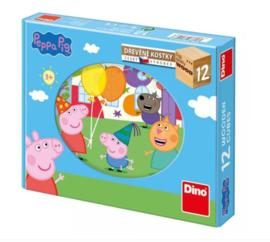 Peppa Big/Pig Houten Blokpuzzel