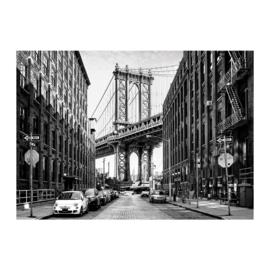 Puzzel Streets of Manhattan New York - Legpuzzel van 1000 stukjes volwassenen