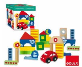 Goula Bouwblokken met figuren