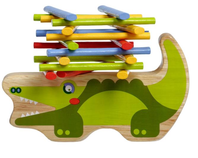Balanceerspel Krokodil