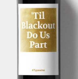 'til blackout do us part