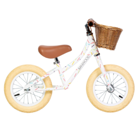 Balance Bike - First Go - Allegra White (Confetti)