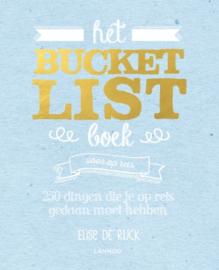 Bucket List boek voor op reis