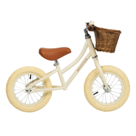 Balance Bike - First Go - Cream