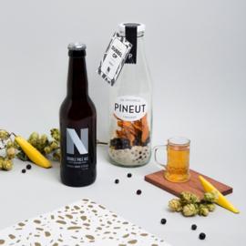 DubbelOp - PINEUT + bier