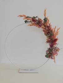 staande flowerhoop - diameter 30cm