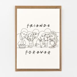 FRIENDS FOREVER - wenskaart