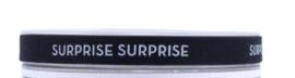 Luxe lint 'surprise surprise' - per halve meter