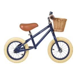 Balance Bike - First Go - Navy Blue