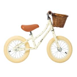 Balance Bike - First Go - Bonton (sterretjes) CREAM